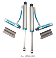 KING SHOCKS 2.5 Remote Reservoir W/Adjusters 05+ Tacoma (6 Lug)