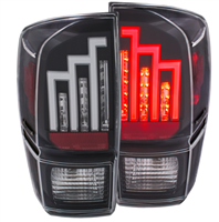 ANZO TOYOTA TACOMA 16+ L.E.D. TAIL LIGHTS BLACK