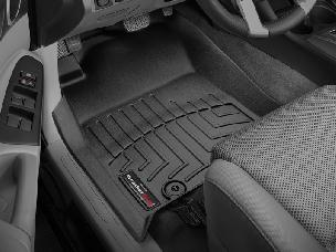 WEATHER TECH 05-11 Tacoma Front Black Floorliners
