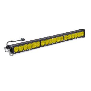 Baja Designs 30 Inch LED Light Bar Amber Wide Driving Pattern OnX6 Series Baja Designs