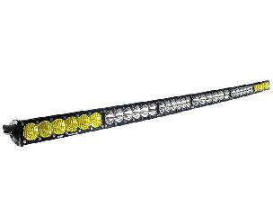 Baja Designs 60 Inch LED Light Bar Amber/Wide Wide Dual Control Pattern OnX6 Series Baja Designs
