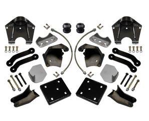 TOTAL CHAOS Rear Shock Mount Kit & Leaf Spring Conversion