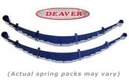 DEAVER I96 Leaf Under 07+ Tundra Leaf Pack