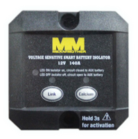 MEAN MOTHER - DUAL BATTERY ISOLATOR 12V 140A