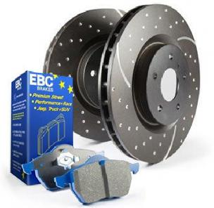 EBC Stage 6 Trackday Brake Kit Rear- 2007+ Tundra