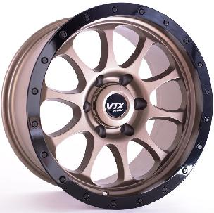 VTX Rogue Wheels - Satin Bronze