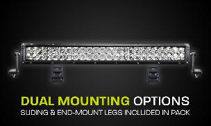HARD KORR XD GEN3 SERIES 22 168W DUAL ROW LED LIGHT BAR