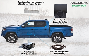 OEM AUDIO PLUS Tacoma SYSTEM-500 Double Cab 2016+