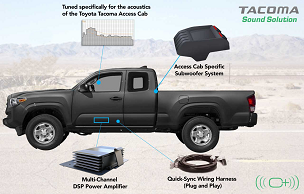 OEM AUDIO Tacoma Sound Solution (Access Cab) | System 500